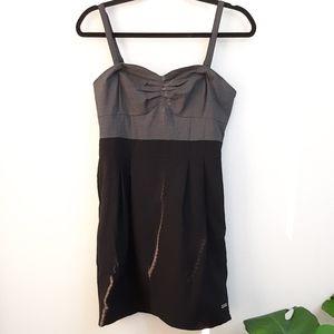Aritzia Wilfred Two tone Wool Blend Dress
